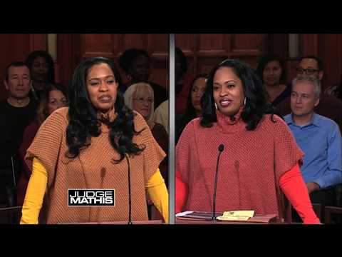 Judge Mathis Cracks Jokes with His Cousin