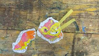 How to make a Chinese Dragon | Craft classes for Chinese New Year
