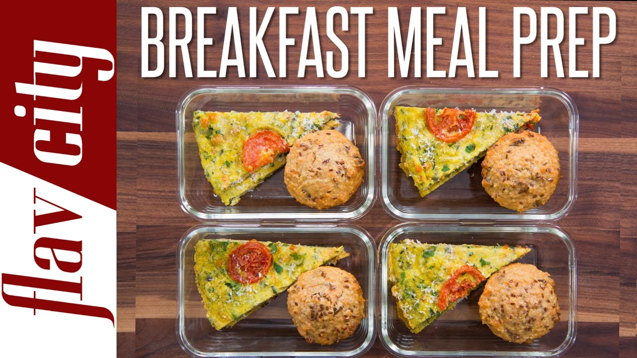 Healthy Breakfast Meal Prep Weekly Meal Prep Youtube pertaining to Brilliant healthy breakfast meals for your reference