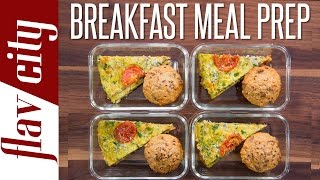 Healthy Breakfast Meal Prep – Weekly Meal Prep