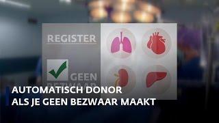 Verdeeldheid over nieuwe donorwet