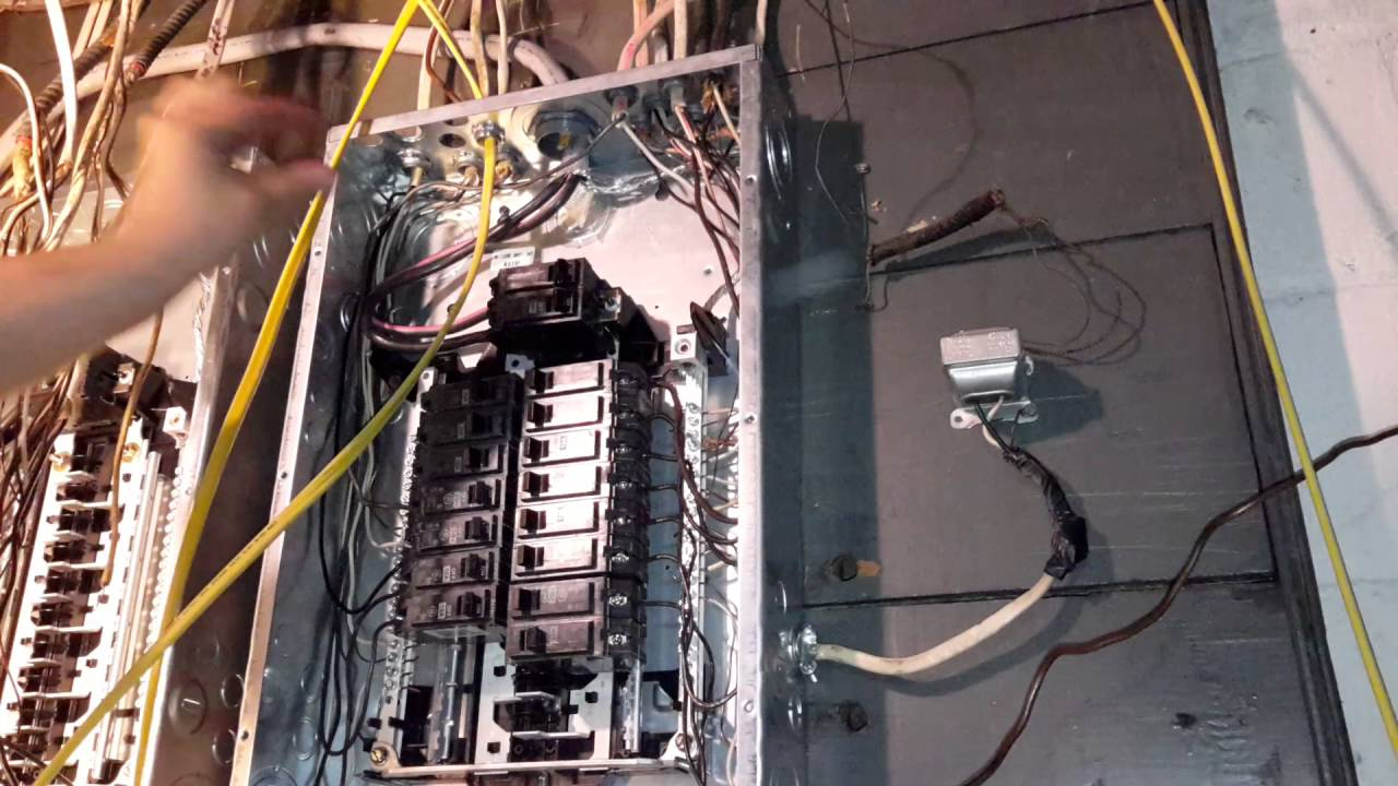 diy how to add new circuit to breaker box youtube rh youtube com wiring a new circuit to 3 phase install a new circuit breaker