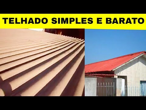 Telhado Simples Barato Quot Roof Simple Quot Cheap Youtube