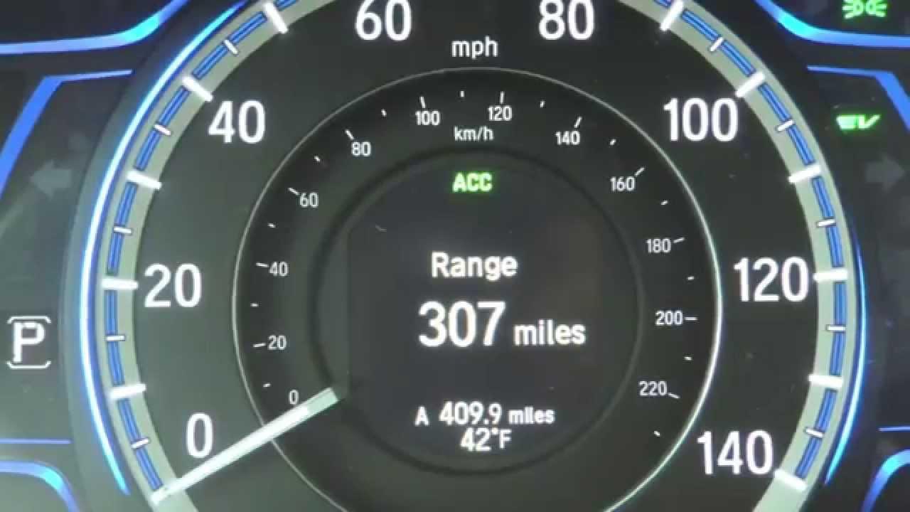 Honda Accord Hybrid World Record Official (800 miles on 1 tank ...
