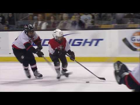 TD Banknorth Garden Saugus Youth Hockey Mites 3 Minutes of fame  Phoenix 03 05 09