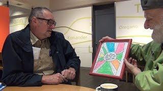 THOMAS HIRSCHHORN partoprenas Esperanto- lecionon de Parzival'