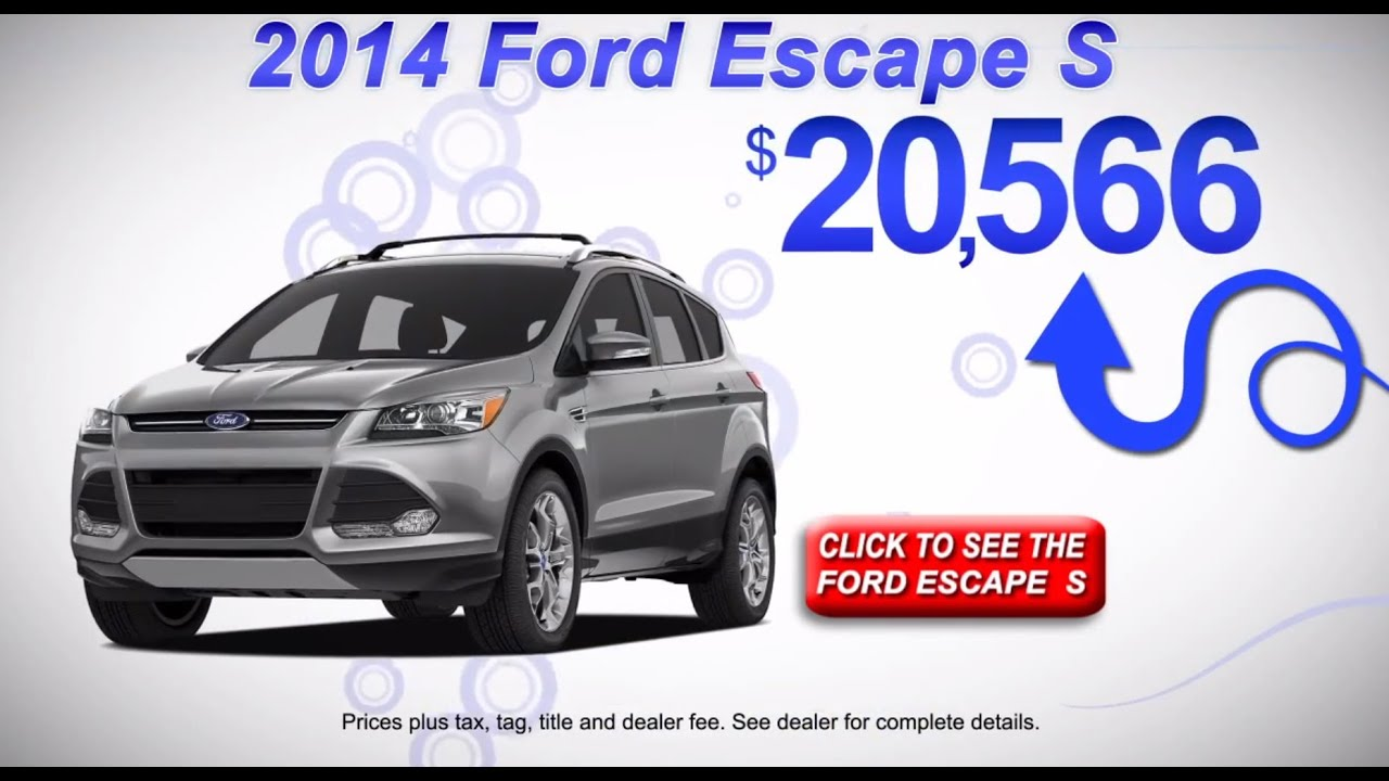 the 2014 ford escape s gary yeomans ford in daytona beach fl youtube. Black Bedroom Furniture Sets. Home Design Ideas