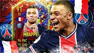 FIFA 21 : MBAPPE 91 RECORD BREAKER SQUAD BUILDER BATTLE !! 😱🔥