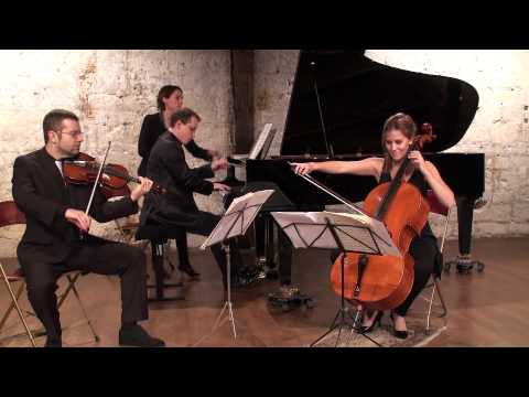 Chostakovitch trio N°1  op 8 David Galoustov Maja Bogdanovic Julien Gernay