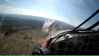 P2V NEPTUNE AIRTANKER FLY ALONG IN 4K HD