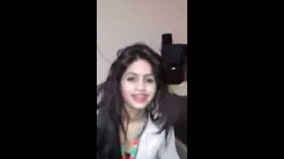Desi girl dancing in salwar