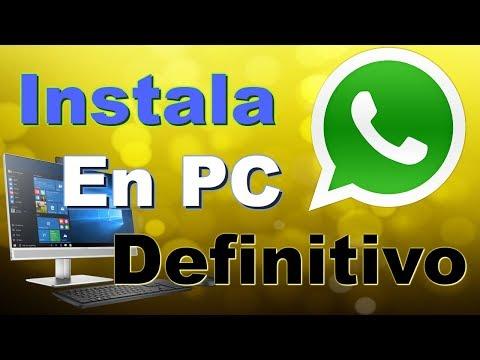 Instala Whatsapp En Pc Definitivo