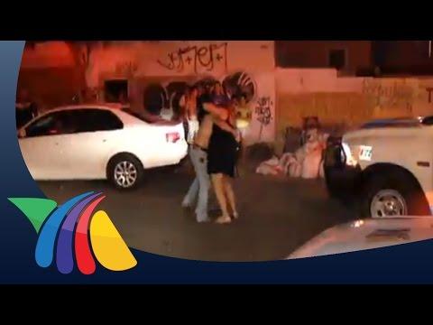 Ebria choca y arma espectáculo en NL | Noticias de Nuevo León