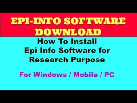 Download Epi Info 7.2.2.16 - softpedia.com
