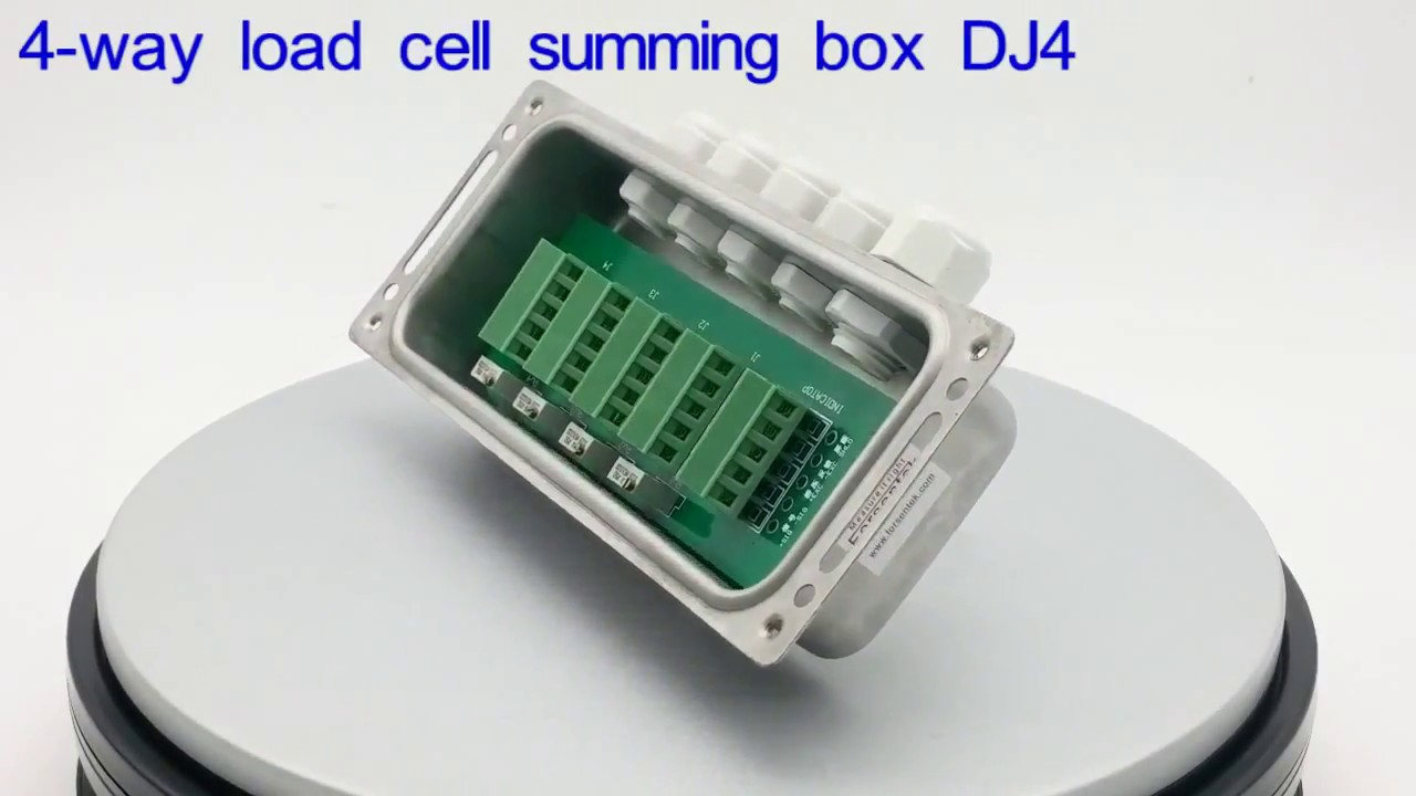 load cell summing box dj4 connects 2 4 load cells [ 1280 x 720 Pixel ]