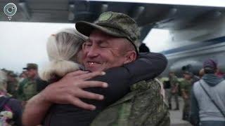 Российские военные врачи вернулись из Сирии. Как их встречали дома?