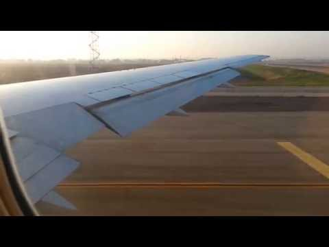 ELAL 767-300ER Take off from Tel Aviv to Moscow (DME)