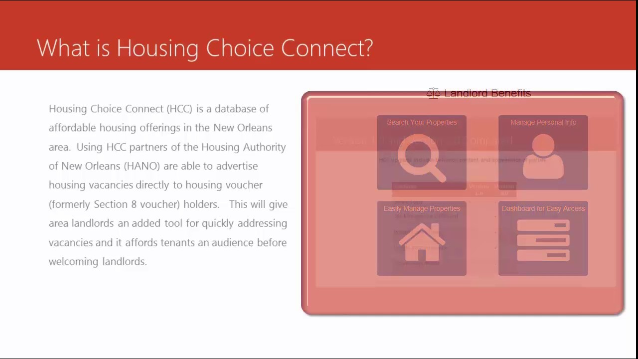 Housing Choice Connect