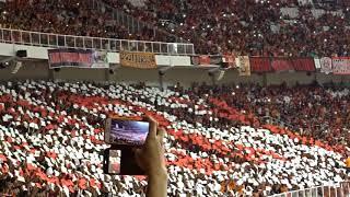 Perdana!! Koreografi Jakmania Di Gbk Dalam Final Piala Presiden 2018!!  Full Hd