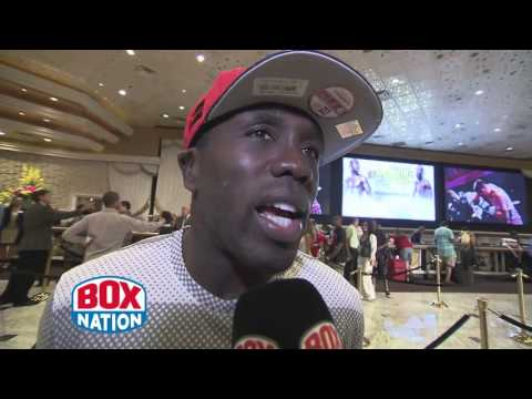 """I've got the speed and power"" Andre Berto interview with Steve Lillis"