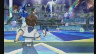 Bakugan: Battle Brawlers Wii - Example Battle