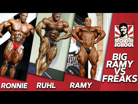 Big Ramy VS Biggest Freaks Of All Time!