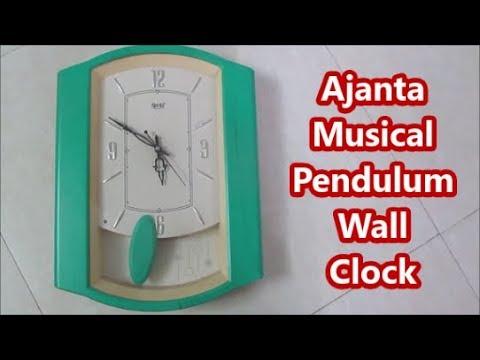 Ajanta Musical Pendulum Wall Clock Review after 3 year use.(Hindi)