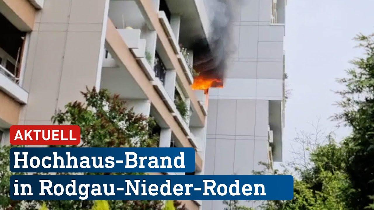 Download Fünf Verletzte nach Hochhaus-Brand in Rodgau | hessenschau