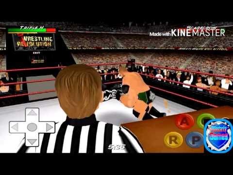 Top finishers on wrestling revolution 3d youtube