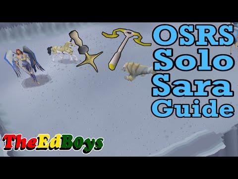 OSRS Solo Saradomin Guide | Old School Runescape How I Fight Sara Solo