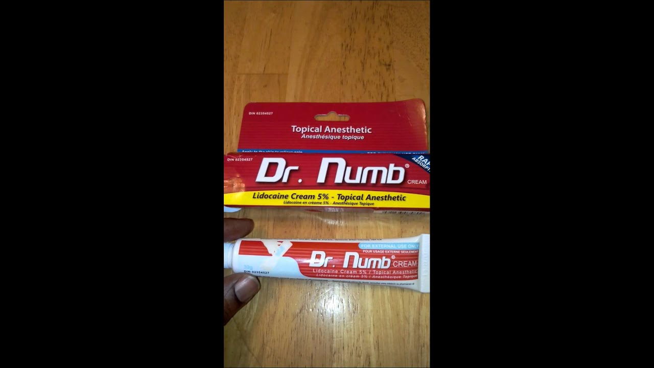 Dr Numb Topical Anesthetic Review Drnumb Youtube