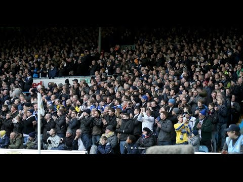 Leeds Fans Singing Marching On Together Vs Newcastle 2016
