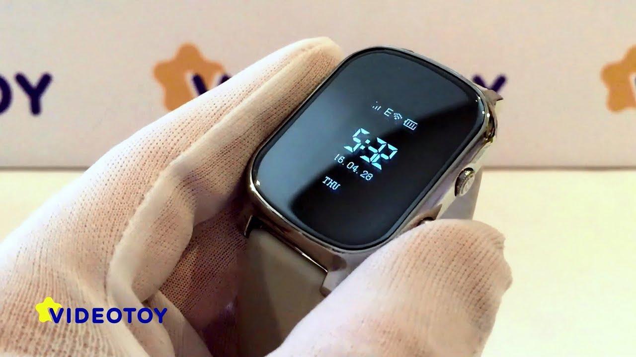 Детские часы-телефон c GPS Baby Smart Watch (настройка и .