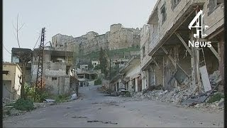 Syria: inside the Crac des Chevaliers crusader castle