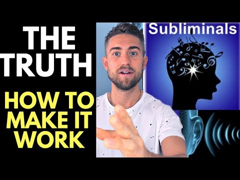 The Truth on Subliminals and the Law of Attraction (How to REALLY Use Them)