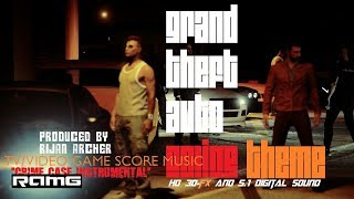 "TV/Video Game Score Theme - Grand Theft Auto - ""Crime Case Instrumental"" - Produced by Rijan Archer"