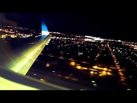 Landing at Winnipeg James Armstrong Richardson International Airport