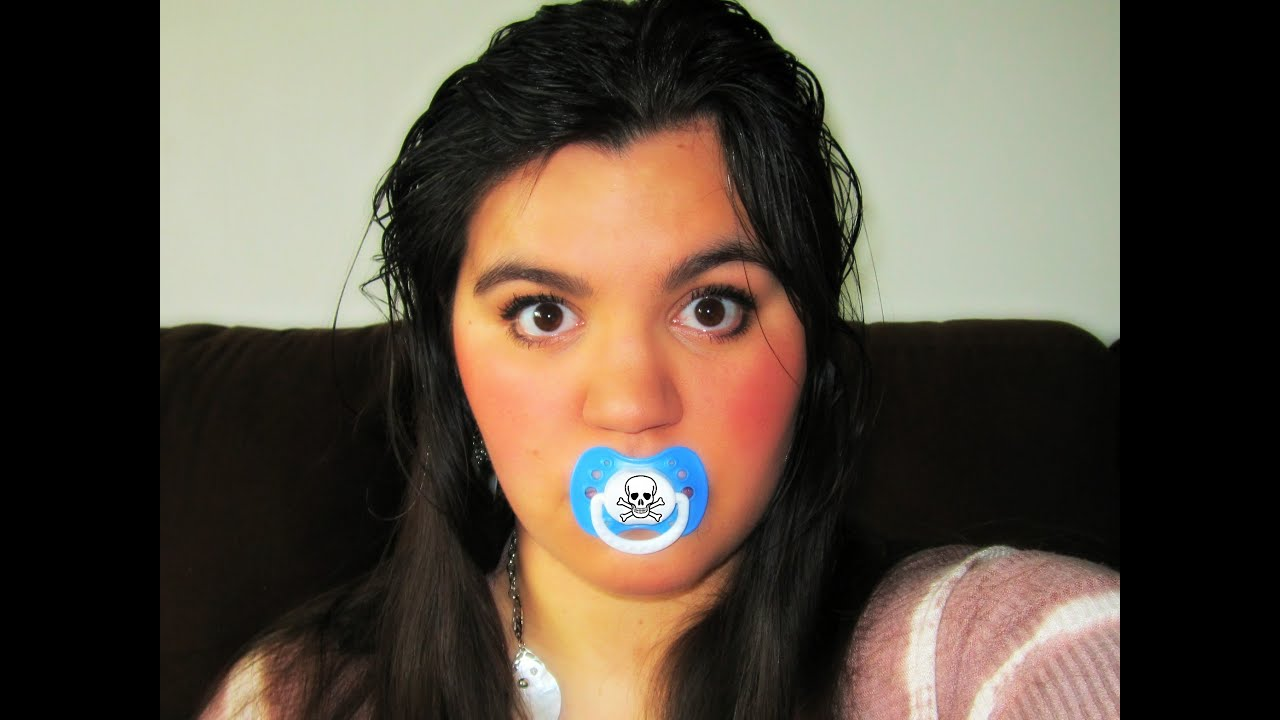 image Teenager sucking on pacifier public xxx