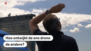 LUCHTRUIM: Hoe ontwijkt de ene drone de andere?