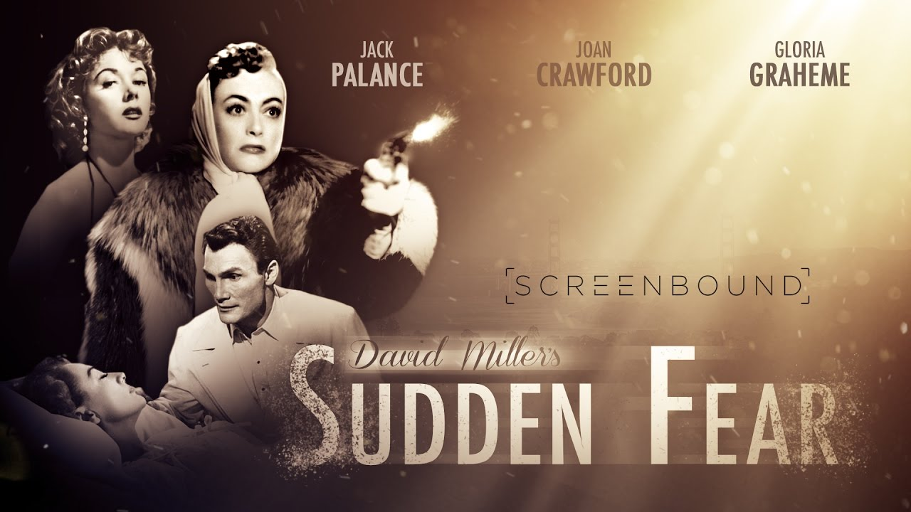 Image result for sudden fear 1952