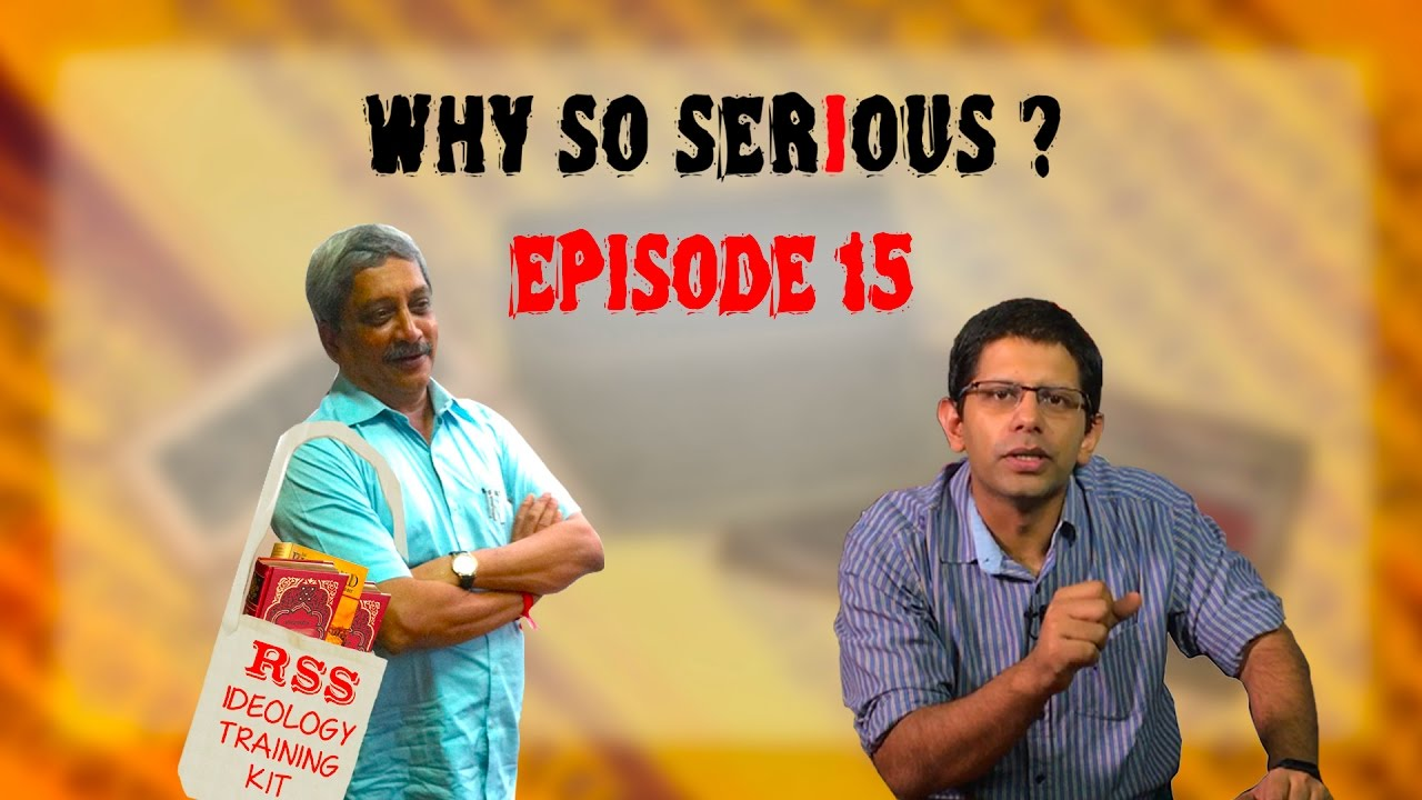 Why So Serious? Ep 15: Parrikar's #surgicalstrike on the Army- via RSS!