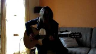 """The Police - Sting """"Bring on the night"""" acoustic guitar cover Linda"""