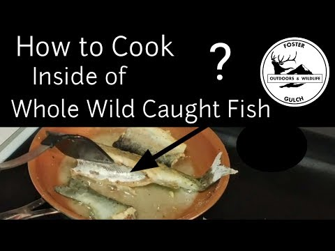 Should You Bake or Pan Fry Wild Caught Fish? and Cooking Large Fish in a Pan When Camping (No Oven)