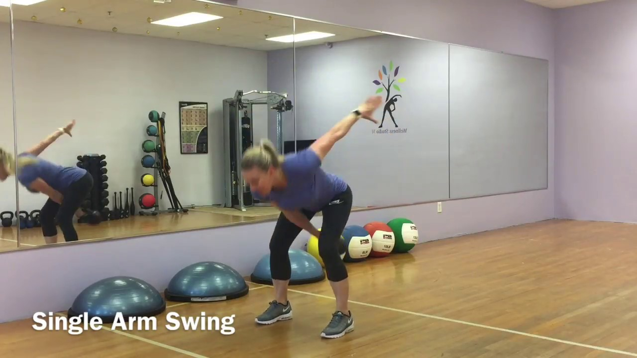 Total Body Kettlebell Strength and Conditioning Workout #7 (Intermediate Level) - YouTube