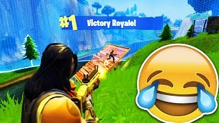 INSANE SNIPER LONGSHOT FOR THE WIN! (Fortnite: Battle Royale Solo Gameplay Victory)
