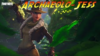 Archaeolo Jess And The Lost Llama - Fortnite