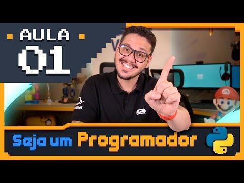 Curso Python #01 - Seja um Programador