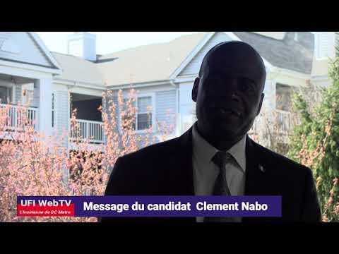 Election UFI: Message du candidat Clément Nabo