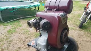 First time no engine Ben van BSA 220cc