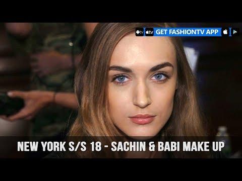 New York Spring/Summer 2018 - Sachin & Babi Make Up   FashionTV